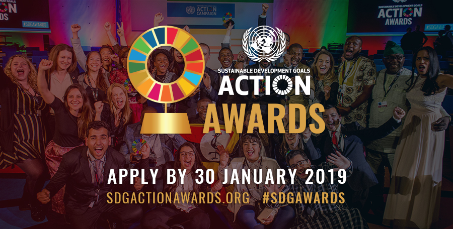 Calling on SDG Advocacy change-makers for the UN SDG Action Awards!