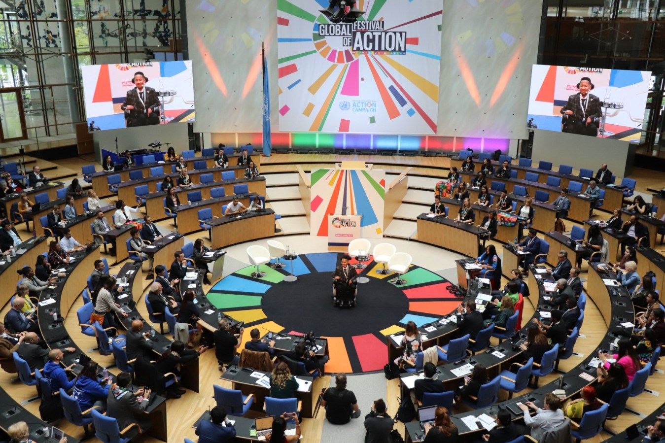 Sustainable Development Goals engagement reaches new heights at largest ever SDG Global Festival ofAction
