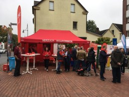 Wahlkampfstand Stadtfest