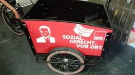 frisch beklebtes Fahrrad 2