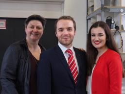 Neujahrsempfang SPD Waltrop 2019 Kirsten Beugholt Marcel Mittelbach Vjola Shala-min