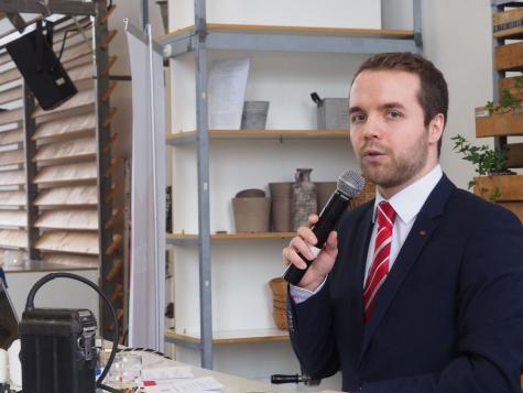 Neujahrsempfang SPD Waltrop 2019 Marcel Mittelbach 1-min
