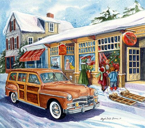 Holiday Auto Art