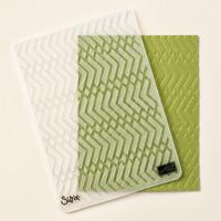 Zig Zag gaufrage Textured Impressions dossier par Stampin 'Up!