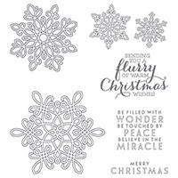 Flurry of Wishes photopolymère Stamp Set par Stampin 'Up!