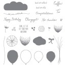 Balloon Celebration Photopolymer Stamp Set