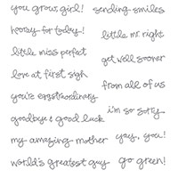 Greatest Greetings Clear-Mont Stamp Set par Stampin 'Up!