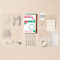 Hello December 2016 Project Life Accessory Pack (German)