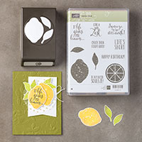 Lemon Zest Wood-Mount Bundle