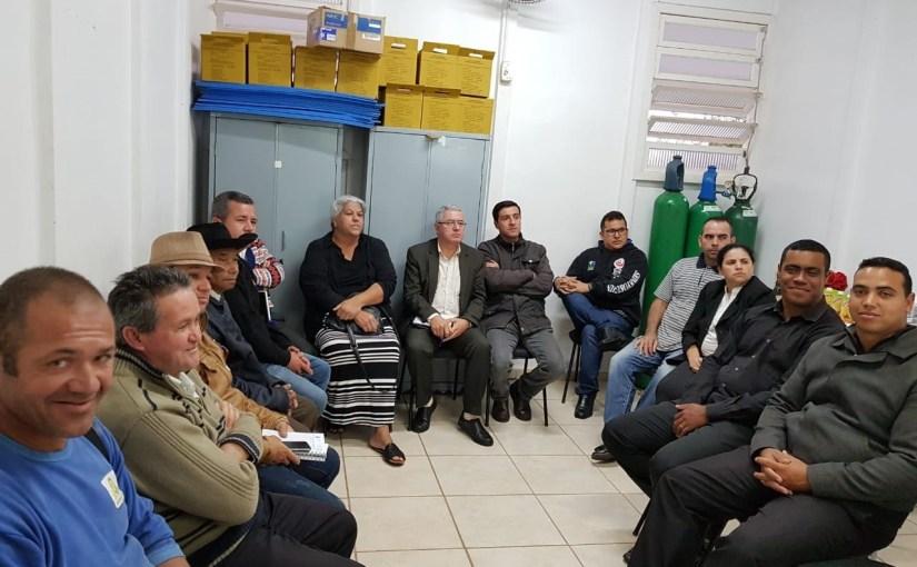 ESF DO JARDIM SANTA RITA DE CÁSSIA REALIZA REUNIÃO COM LÍDERES  RELIGIOSOS PARA CONSCIENTIZAR SOBRE CASOS DE DESACATO