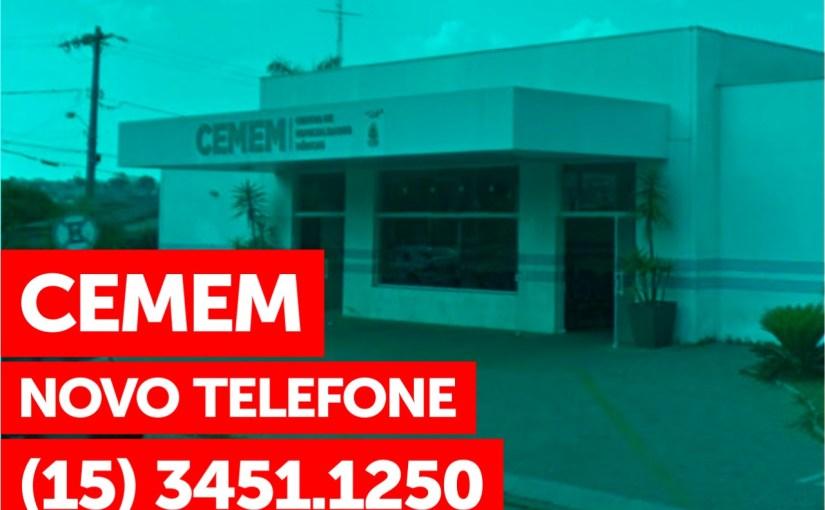 CENTRO MUNICIPAL DE ESPECIALIDADES  MÉDICAS – CEMEM – TEM NOVO TELEFONE