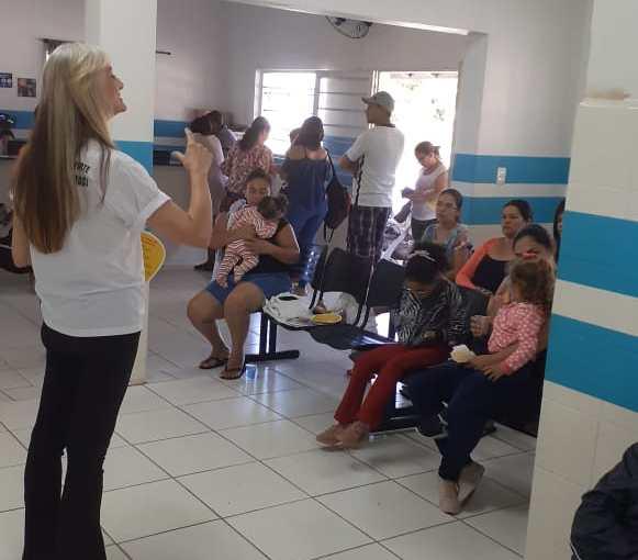 ESF DO JARDIM ROSA GARCIA PROMOVE ENCONTRO  EM HOMENAGEM AO DIA INTERNACIONAL DA MULHER