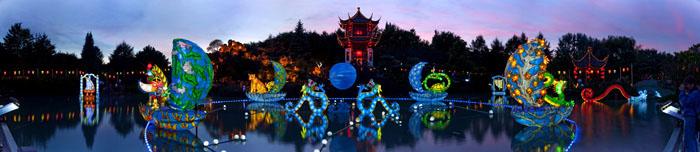 La Magie des lanternes 2009 - vue panoramique © Michel Tremblay