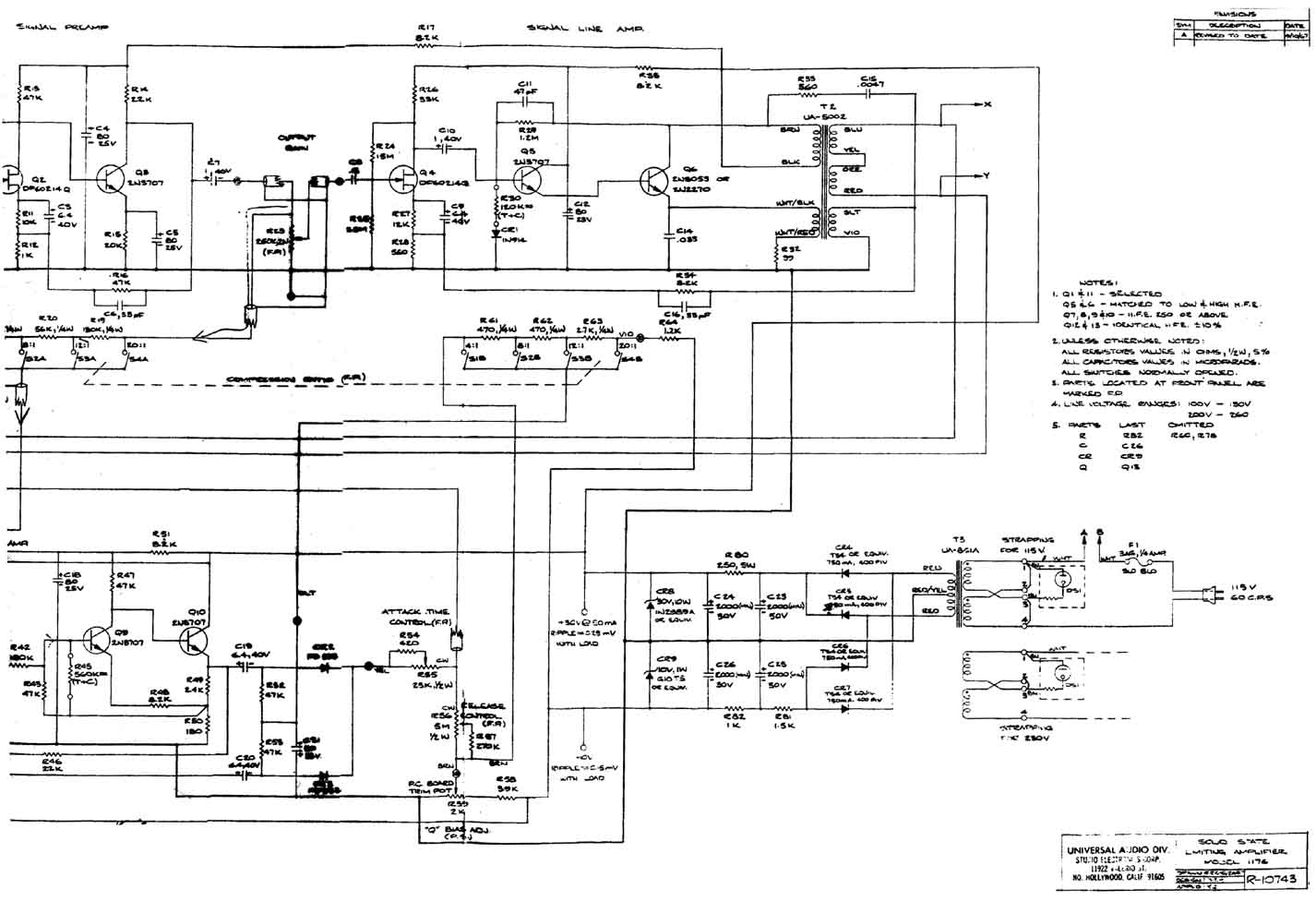 Audio Bridge Schematics