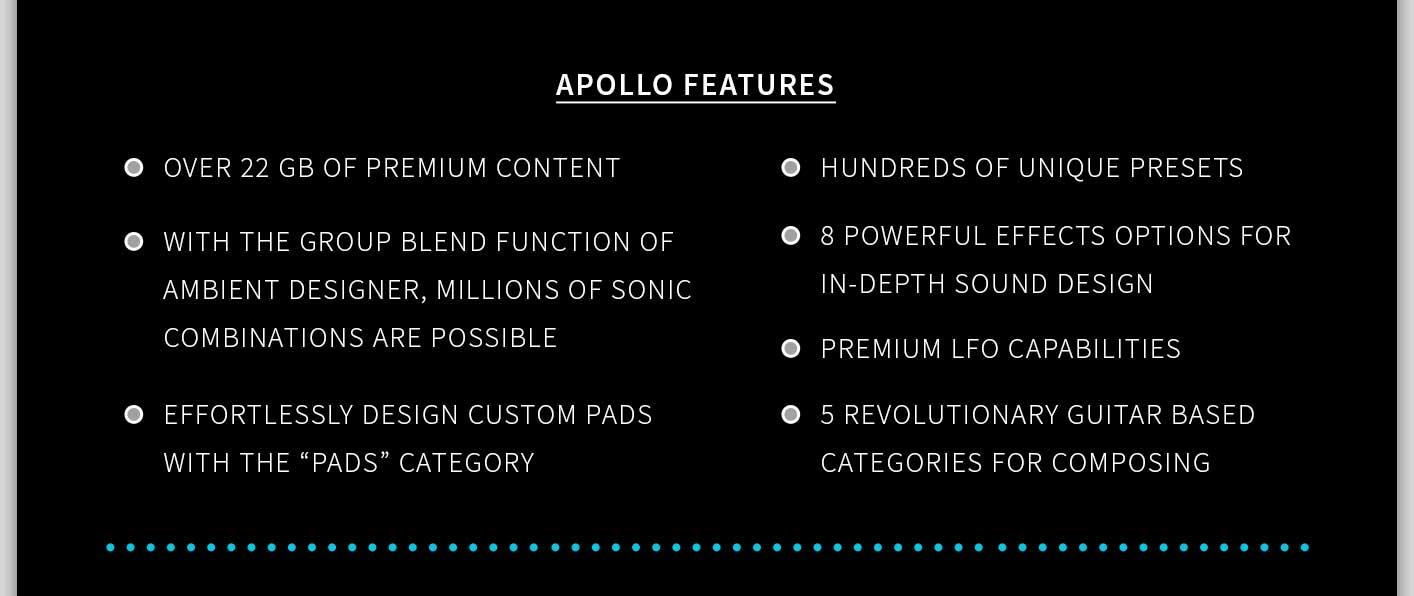 Apollo Features