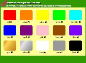 4ae785cf424 Vocabulary » Colors Shapes – Ecole Ibn Roched Regueb