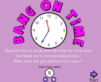 ¿Te atreves con la hora en inglés?