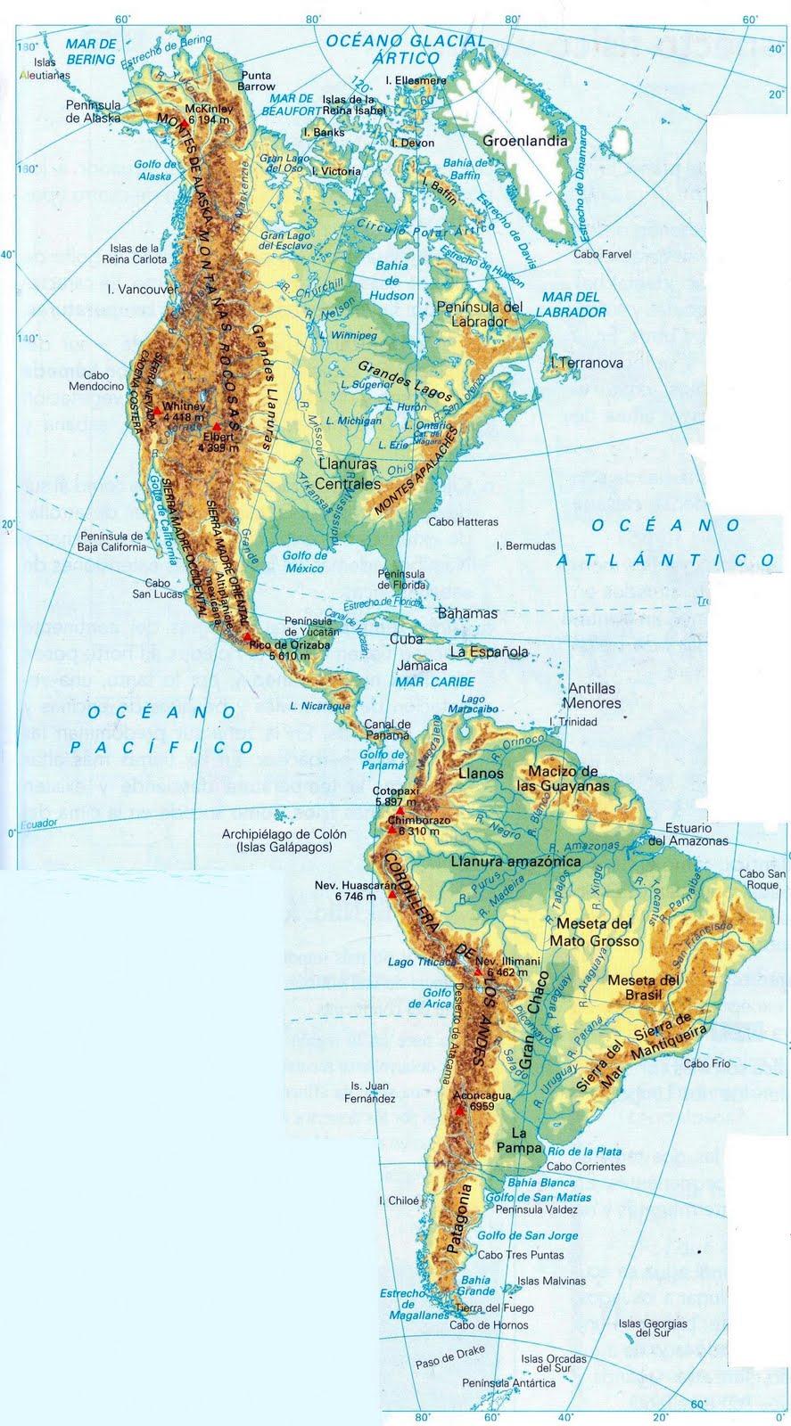 Tema 5 Los Continentes Blog De Miguel Angel Suarez Umpierrez