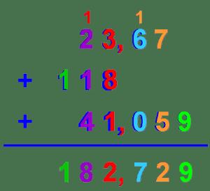 Tema 5 operaciones con n meros decimales blog de for Poser une soustraction
