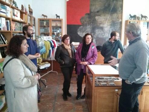 Visitas del profesorado A Casa Fundación Saramago