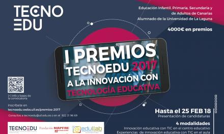 Convocatoria I Premios Tecnoedu 2017 a la innovación con tecnología educativa