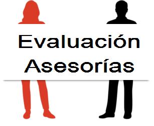 EVALUACIÓN DE LAS ASESORÍAS DE LOS CENTROS DEL PROFESORADO