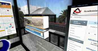 Imagen de la situación del acceso a la página La tierra de Galdós en el CEP Virtual.