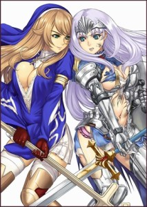 Queen's Blade: Rebellion Specials