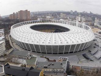 Lo stadio di Kiev