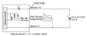 Robust Photoelectric Sensor RX IO Circuit and Wiring