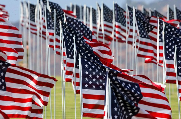 Almost 3,000 American flags placed in a precise grid on the vast, velvety lawn of Pepperdine University in Malibu remembering the victims of the terrorist attacks on Sept. 11, 2001, the day life as we know it changed forever.