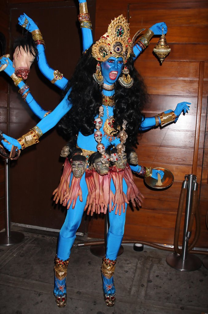 Image result for Heidi Klum Dressed As Kali