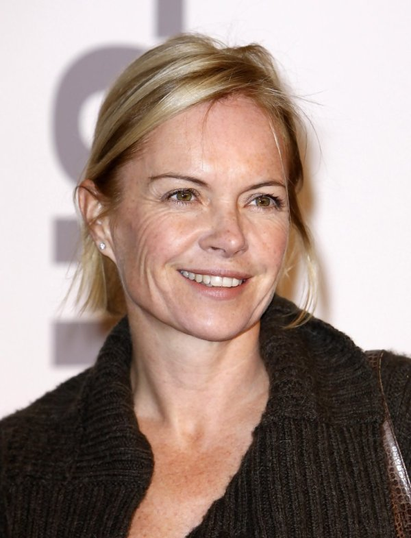 Mariella Frostrup in The Saatchi Gallery Opening In London ...