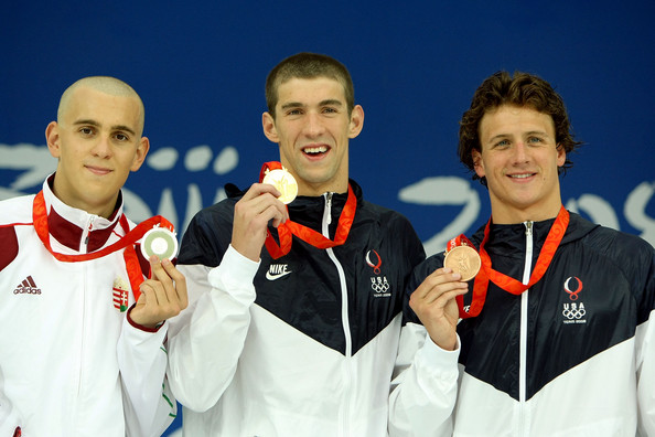 Image result for phelps, cseh, and lochte 2008