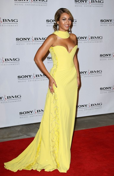 Beyonce in Sony BMG Music 2008 GRAMMY Awards After Party - Arrivals