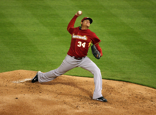 Felix Hernandez dominated for Venezuela in the WBC, and could dominate MLB in 2009.