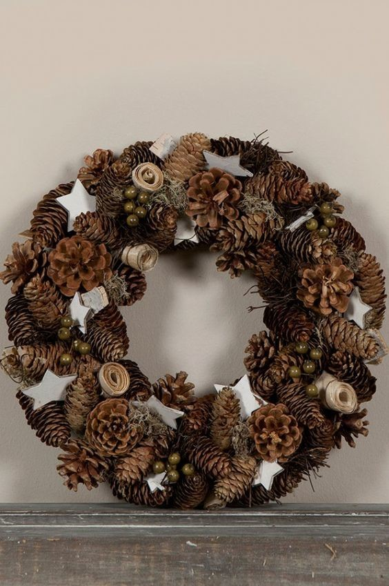 Pinecone Wreath Youll Love These Unique Twists On