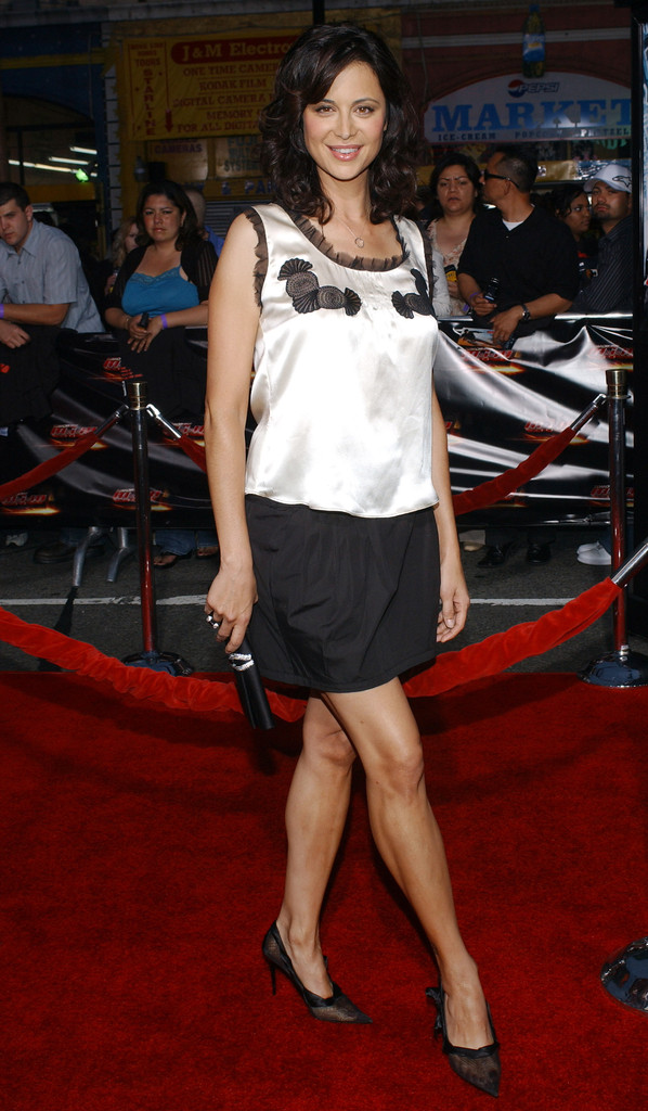 Catherine Bell Mini Skirt Mini Skirt Lookbook StyleBistro