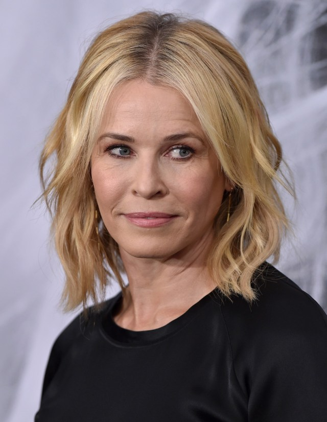 chelsea handler medium wavy cut - chelsea handler shoulder