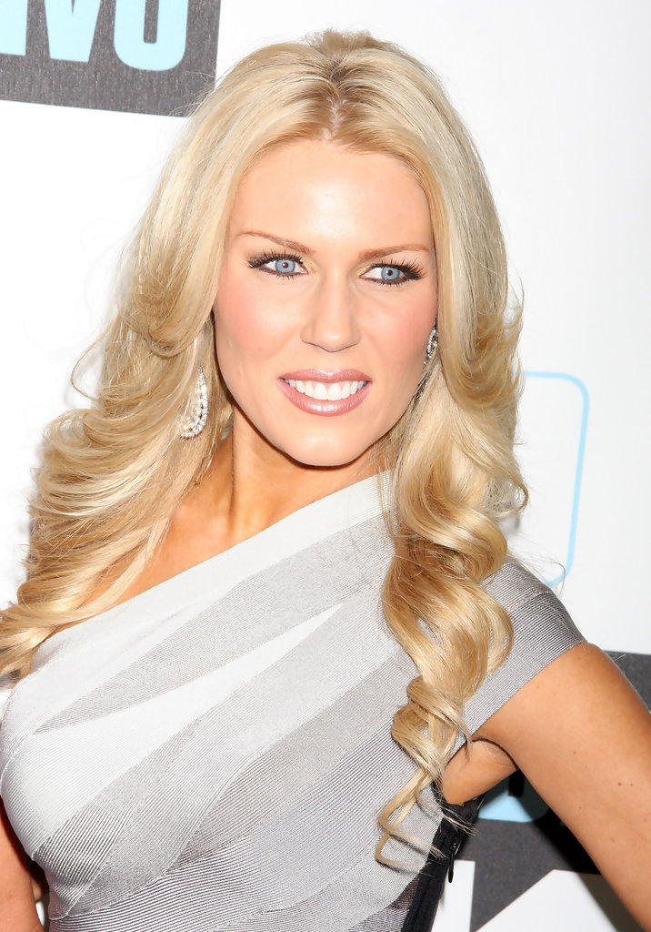 Gretchen Rossi Long Curls Gretchen Rossi Hair Looks