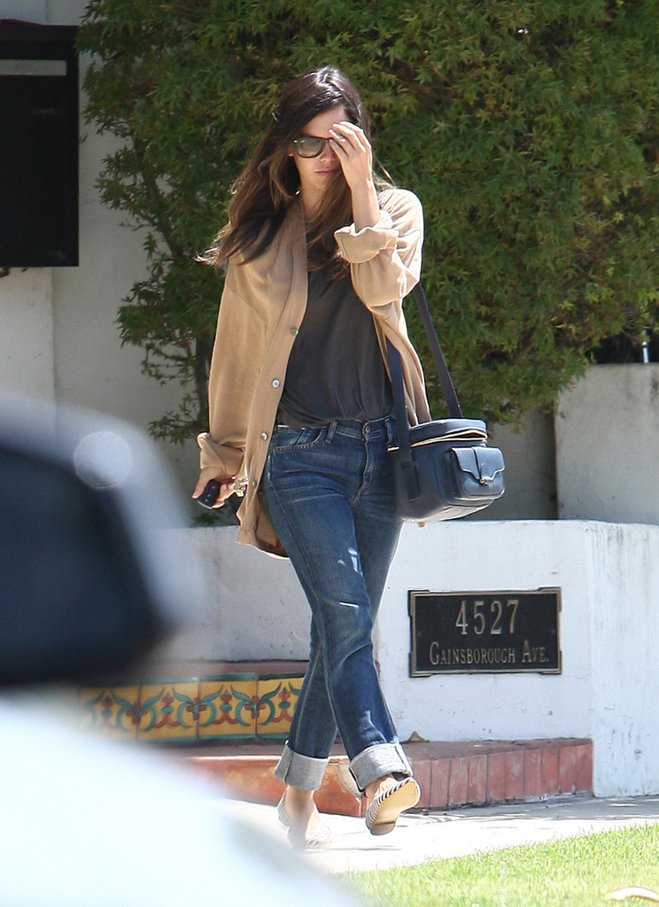Rachel Bilson Button Down Shirt Rachel Bilson Looks