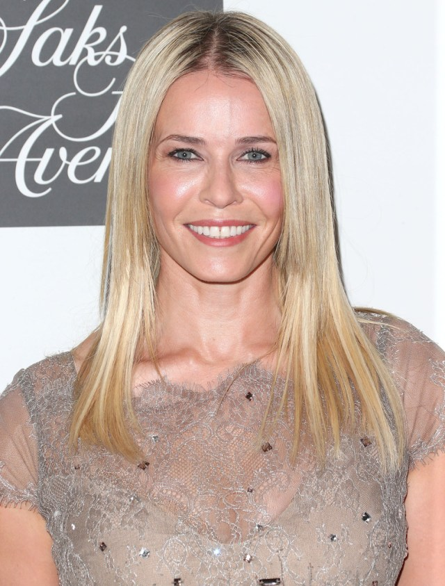 chelsea handler long straight cut - chelsea handler long