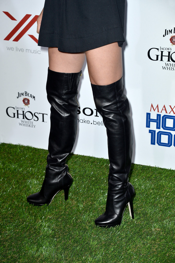 Jill Wagner Over The Knee Boots Over The Knee Boots