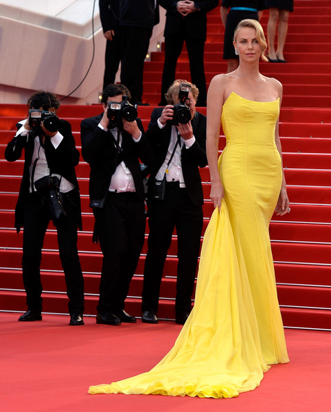 Charlize Theron in Christian Dior Couture