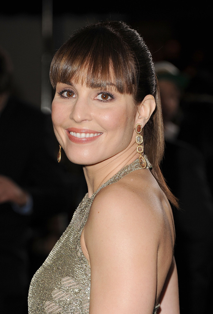Noomi Rapace Ponytail Noomi Rapace Hair Looks StyleBistro