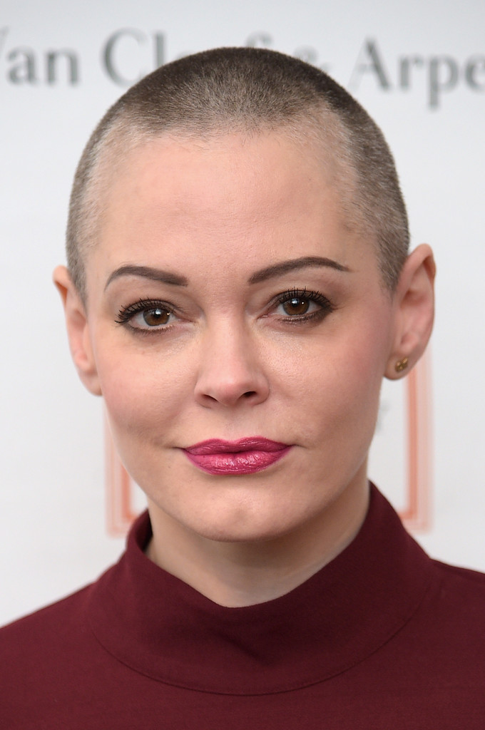 Rose McGowan Buzzcut Short Hairstyles Lookbook StyleBistro