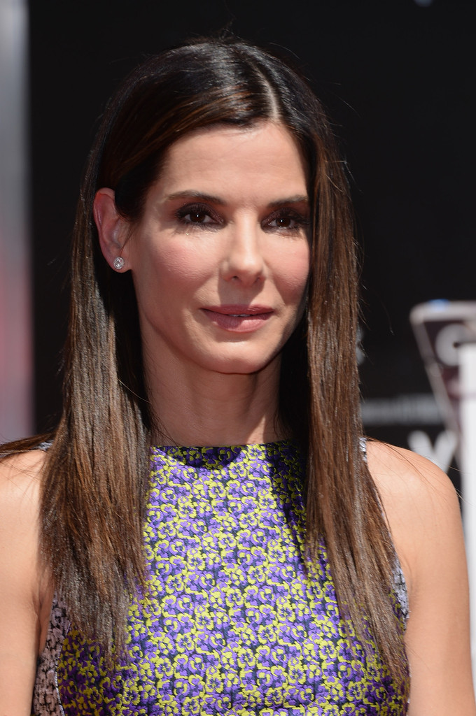 Sandra Bullock Layered Cut Sandra Bullock Looks