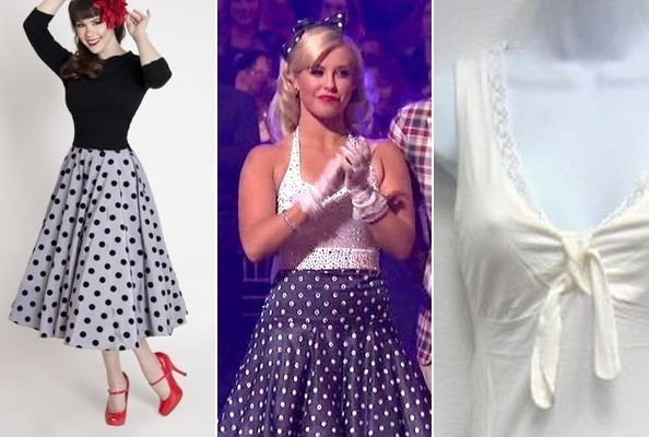 Chelsie Hightowers 50s Look On Dancing With The Stars