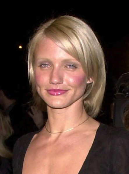 Cameron Diaz Hollywoods Best Bob Hairstyles StyleBistro