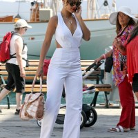 Down at the Docks with Rihanna - Christian Louboutin Miss Rope tote & Other Seaside Must Haves